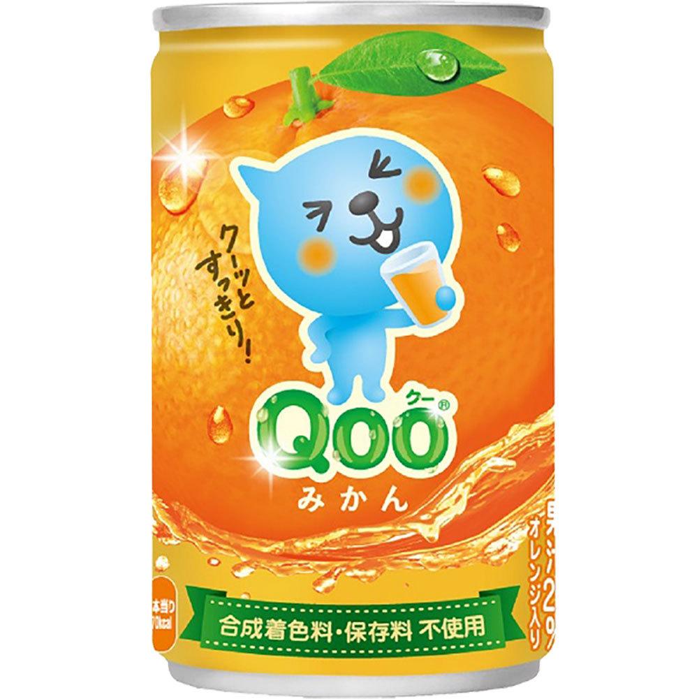 ミニッツメイド QOO みかん 160g × 60本 缶の商品画像|3