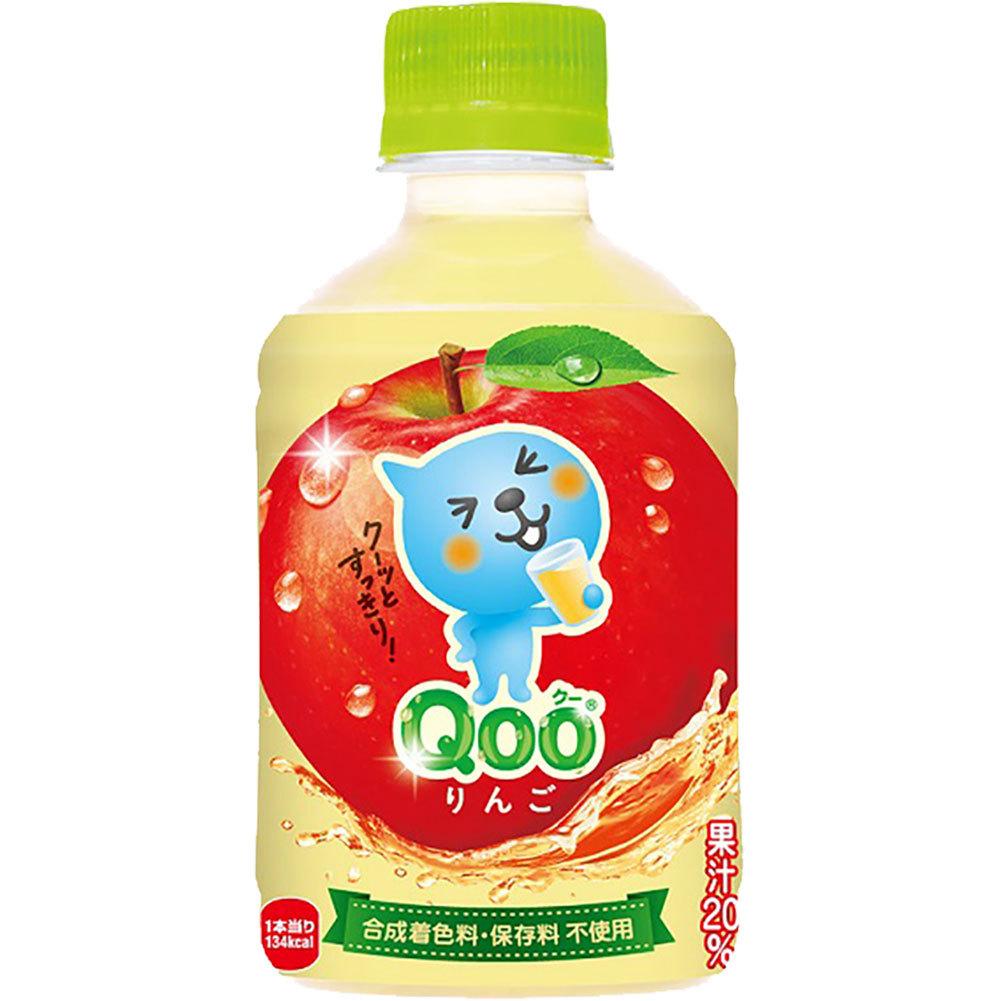 ミニッツメイド QOO りんご 280ml × 24本 ペットボトルの商品画像|3