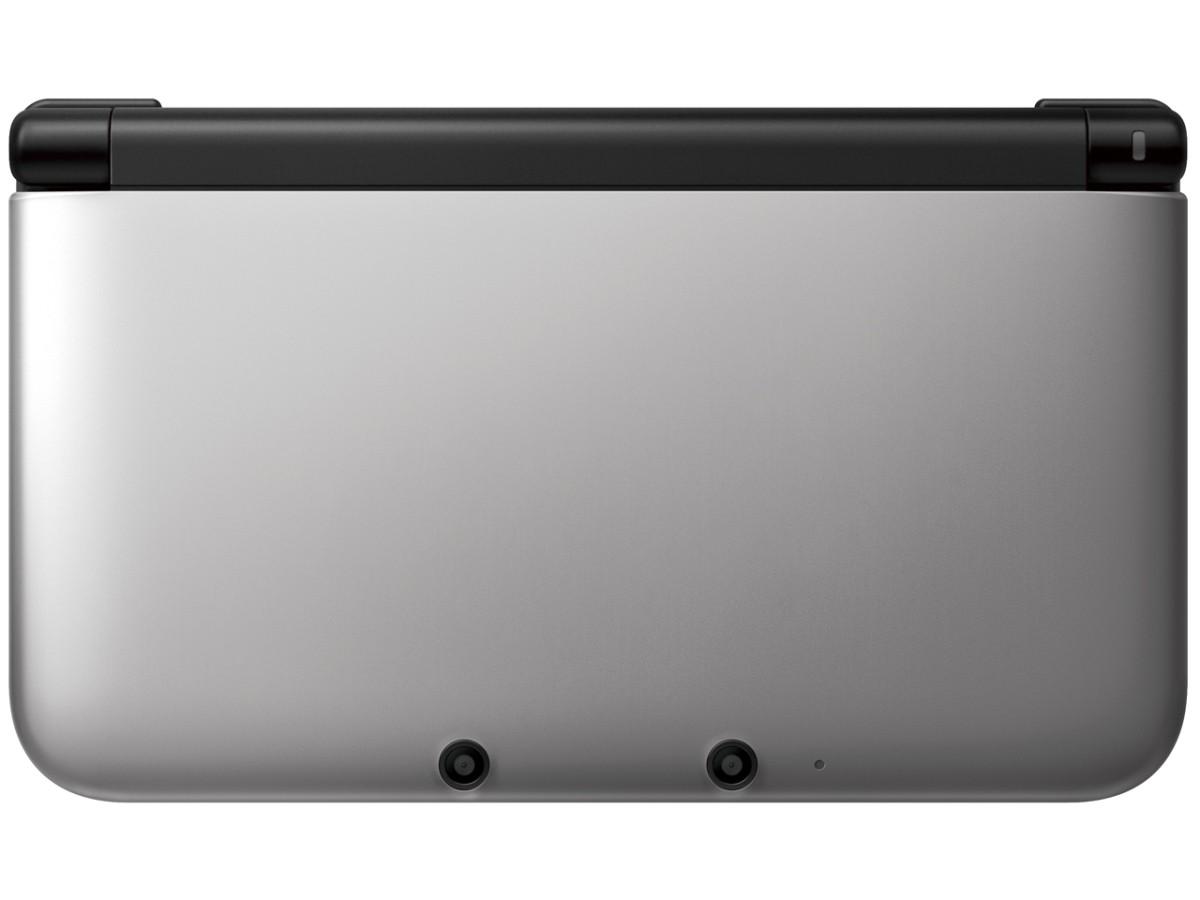 任天堂 ニンテンドー3DS LL シルバー×ブラックの商品画像|2
