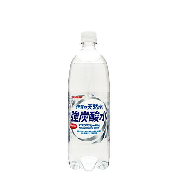 伊賀の天然水 強炭酸水 1L × 12本 ペットボトルの商品画像 ナビ