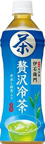 サントリー 伊右衛門 贅沢冷茶 500ml × 24本 ペットボトルの商品画像 3