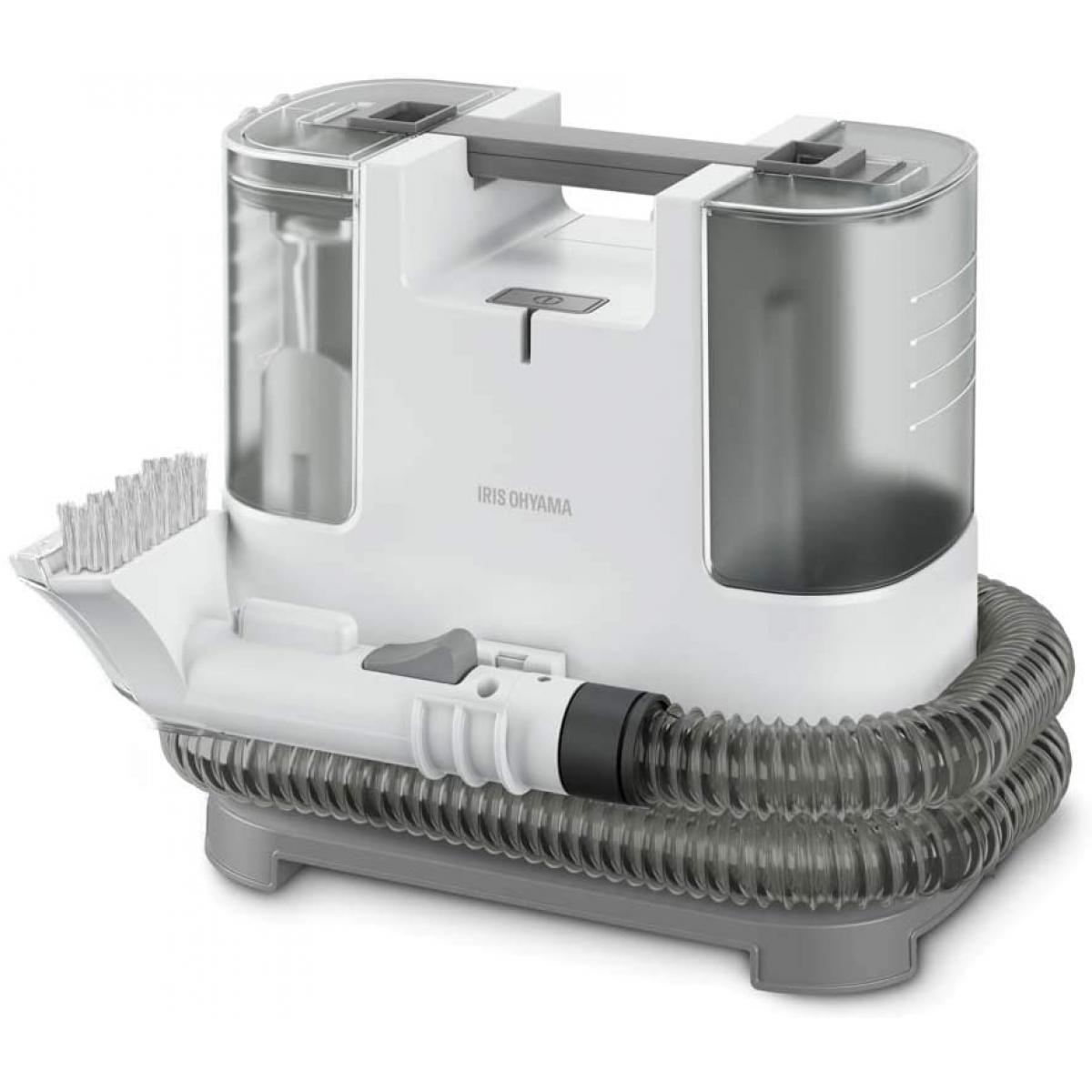 【在庫有・即納】アイリスオーヤマ リンサークリーナー 自動ポンプ式 布製品洗浄機 水と空気の力で汚れを吸い取る 温水対応 掃除機 RNS-P10-W