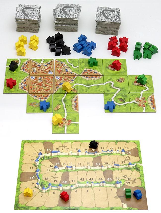 メビウスゲームズ(Hans im Gluck) カルカソンヌJ ボードゲームの商品画像|4