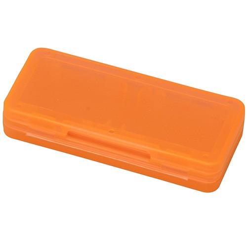 ナカバヤシ SWITCH用 カードケース 4枚入 オレンジ MCC-SWI03DDの商品画像|ナビ