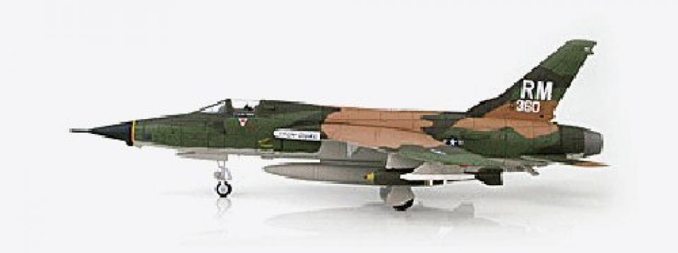 ホビーマスター F-105 サンダーチーフ 第354戦術戦闘航空隊(1/72スケール HA2514)の商品画像|ナビ