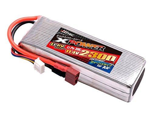 ハイテック バッテリー XPOWER Li-Po 11.4V 2300mAh 30C for Air XP2300PHVの商品画像|ナビ
