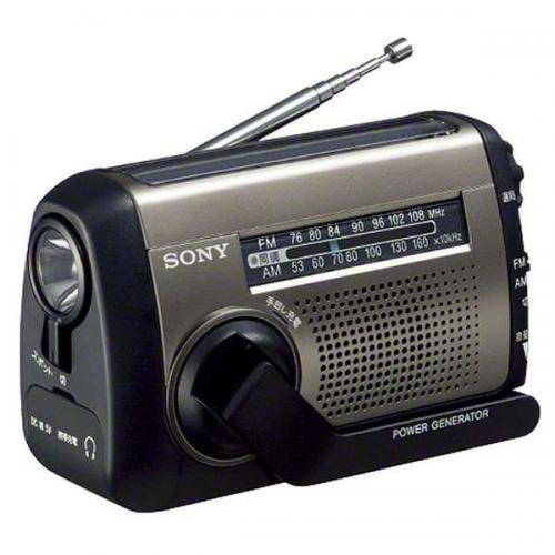 ICF-B99S C/ソニー/【ワイドFM対応】FM/AM 防災ラジオ