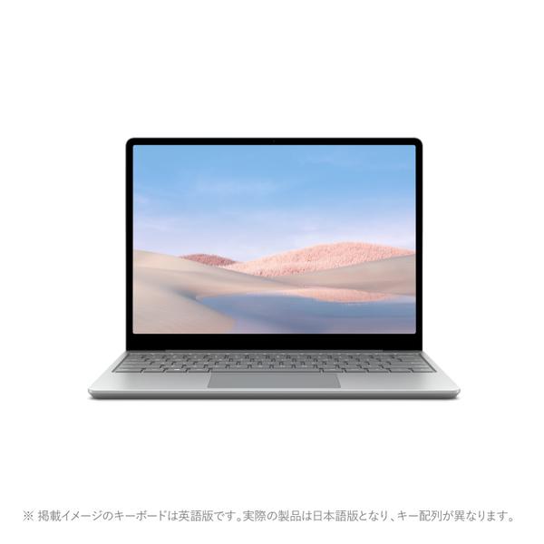 マイクロソフト Surface Laptop Go プラチナ [1ZO-00020]の商品画像|ナビ