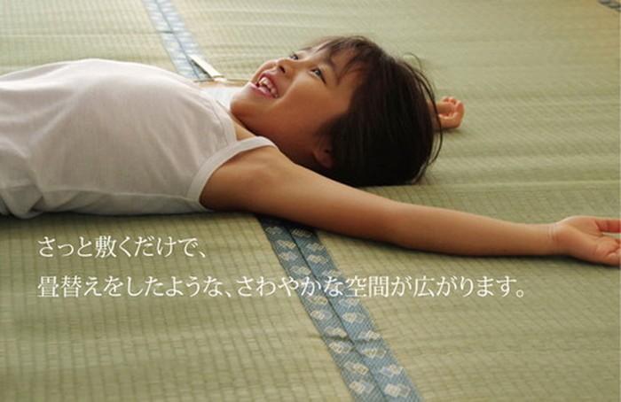 イケヒコ い草上敷き 松 団地間8畳の商品画像|3