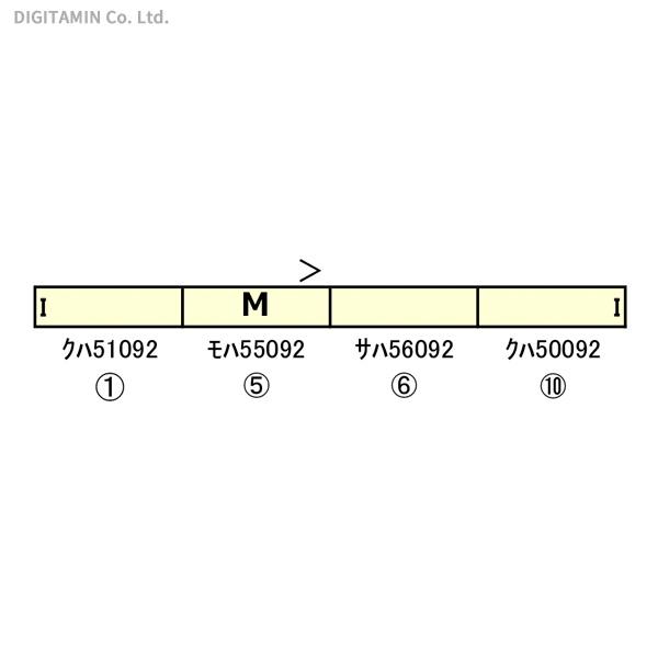 グリーンマックス GREENMAX 東武50090型「池袋・川越アートトレイン」動力付き基本4両編成セット 50668の商品画像|ナビ