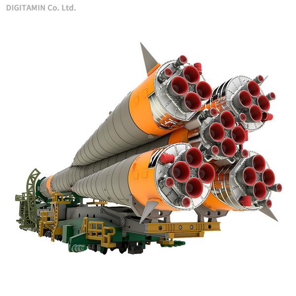 ソユーズロケット+搬送列車 (1/150スケール 933674)の商品画像|ナビ