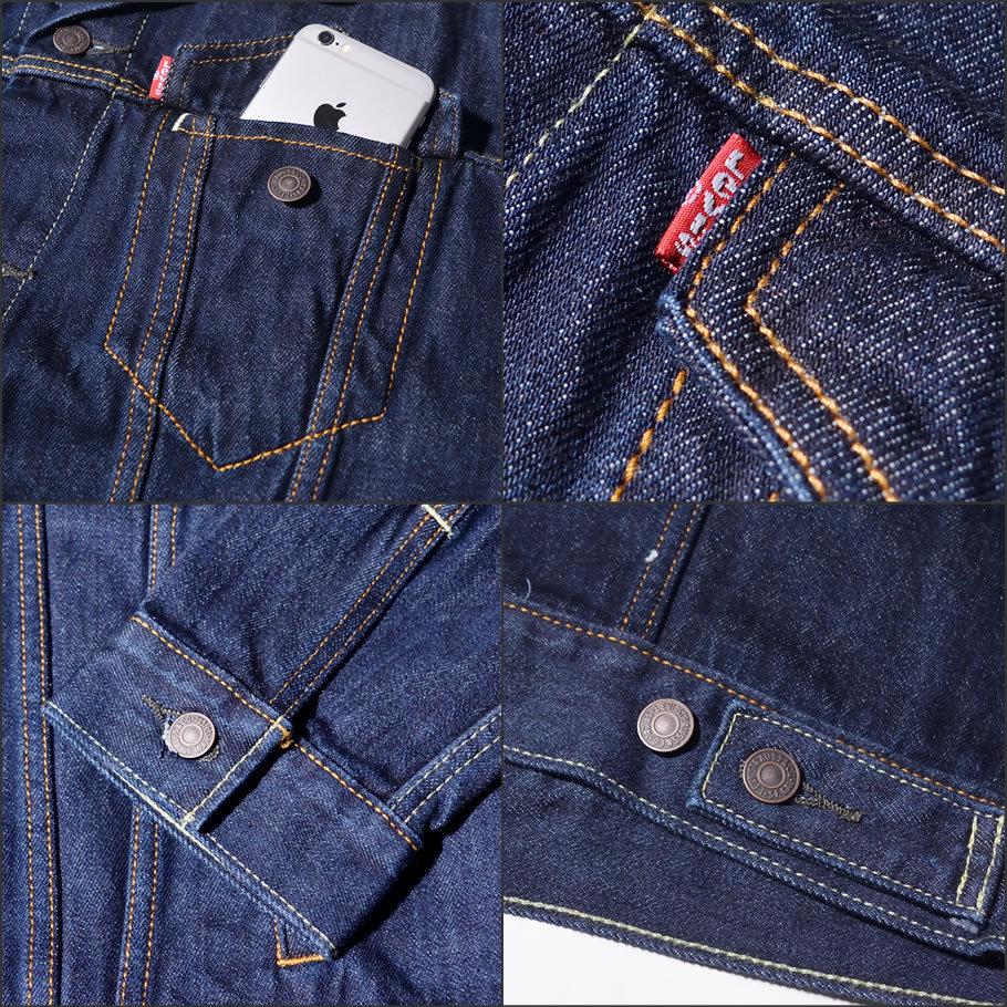 USモデル LEVI'S リーバイス トラッカージャケット 72334 デニムジャケット メンズ ブランド 14.5oz デニム 大きいサイズ
