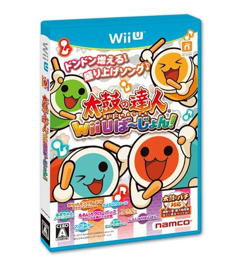 【Wii U】バンダイナムコエンターテインメント 太鼓の達人 Wii Uば~じょん![ソフト単品版]の商品画像|ナビ