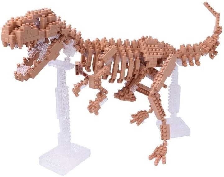 ナノブロック ティラノサウルス 骨格モデル NBM_012の商品画像|ナビ