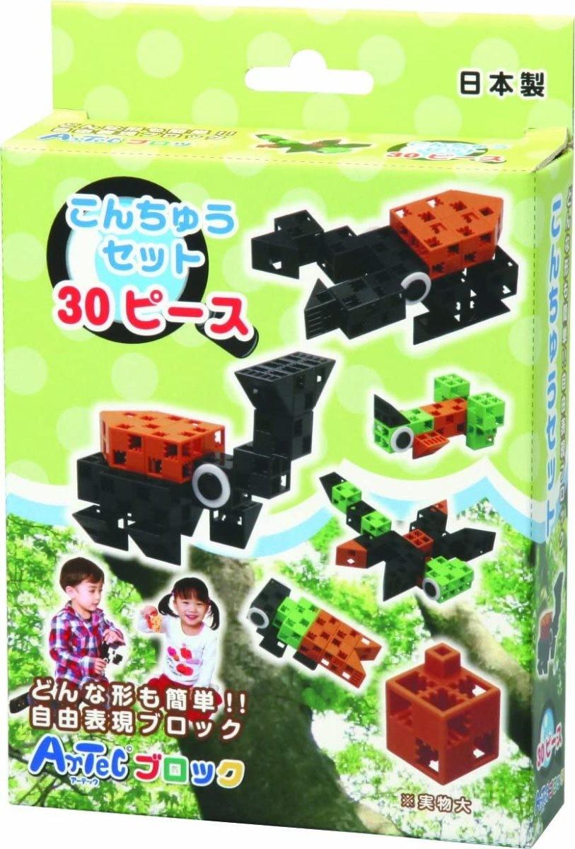 アーテックブロック ワールド30ピース こんちゅうセット 76667の商品画像|ナビ