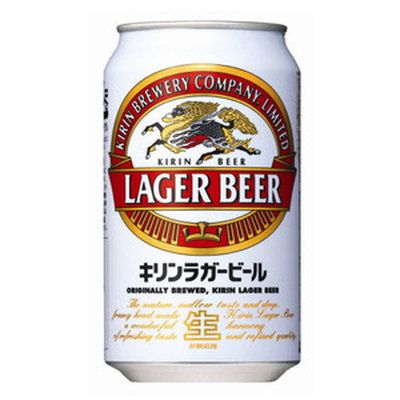 キリン ラガー 350ml缶 2ケース(48本)の商品画像|ナビ