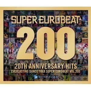 【2CD+DVD】 スーパーユーロビート VOL.200