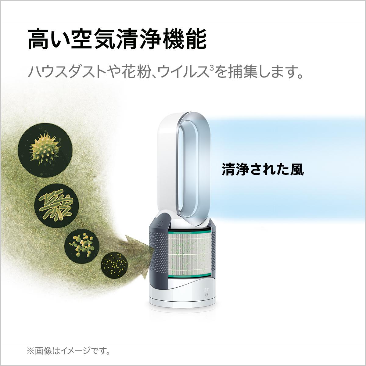 ダイソン Pure Hot+CoolLink HP03 WS(ホワイト/シルバー)の商品画像|2