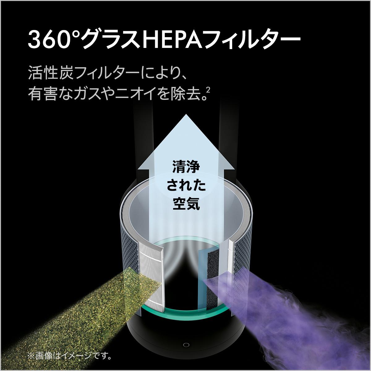ダイソン Pure Hot+CoolLink HP03 WS(ホワイト/シルバー)の商品画像|3