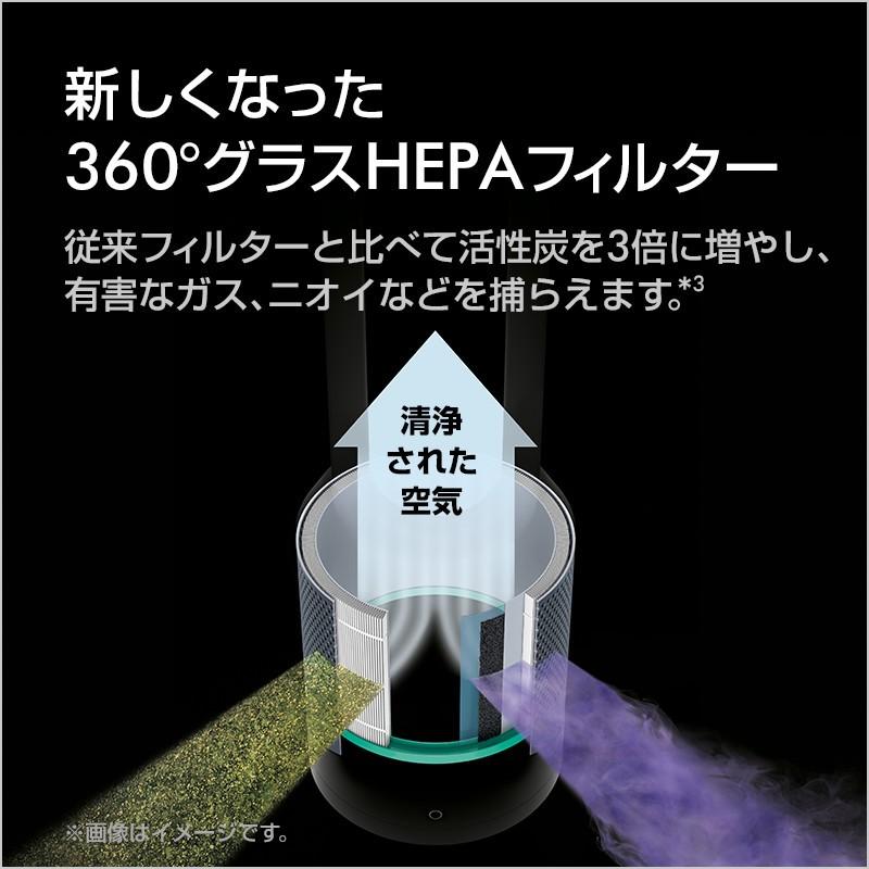 ダイソン Pure Hot+Cool HP00 WS(ホワイト/シルバー)の商品画像|4