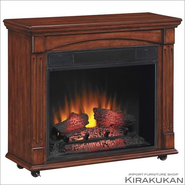 ロイドグランデ 23インチ 電気式暖炉 ランカスター(ヴィンテージチェリー)の商品画像|2