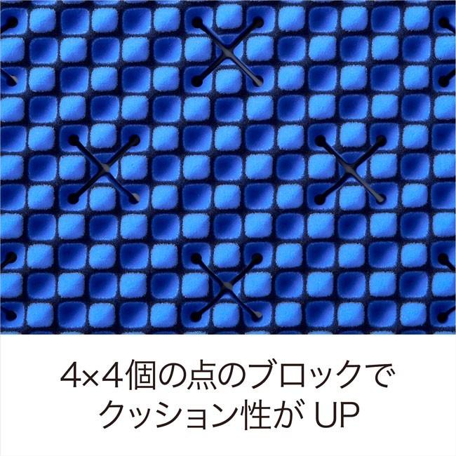 西川 エアー ダブルサイズ 厚さ8cm オーバーレイ エアー01 マットレス HARD AI0010HT HVB6303002(ネイビー)の商品画像|4