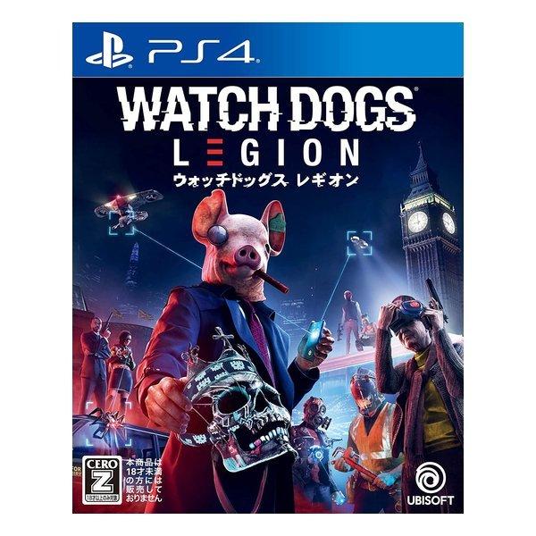 【PS4】 ウォッチドッグス レギオン [通常版]の商品画像|ナビ