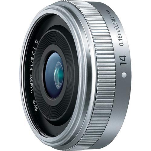 パナソニック ルミックスG LUMIX G 14mm/F2.5 II ASPH. H-H014A-S(シルバー)の商品画像|ナビ