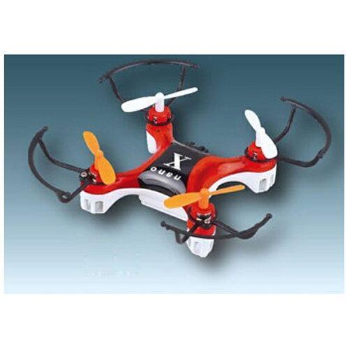童友社 2.4GHz マルチコプター ナノエックス レッド MODE2の商品画像|ナビ