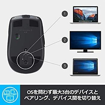 ロジクール MX ANYWHERE 2S ワイヤレスモバイルマウス MX1600sGR (グラファイト)の商品画像|2