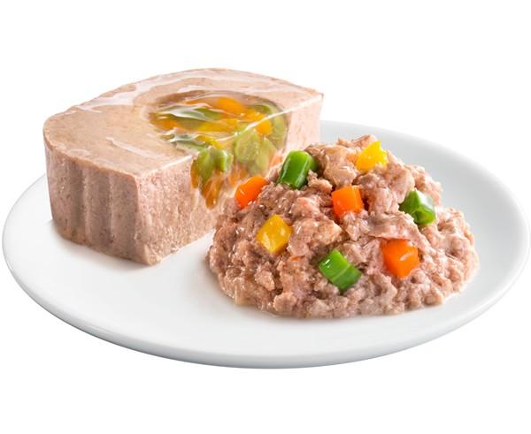 マースジャパン シーザー おいしいまぐろ ささみ・野菜入り ふわふわローフタイプ 100gの商品画像|2