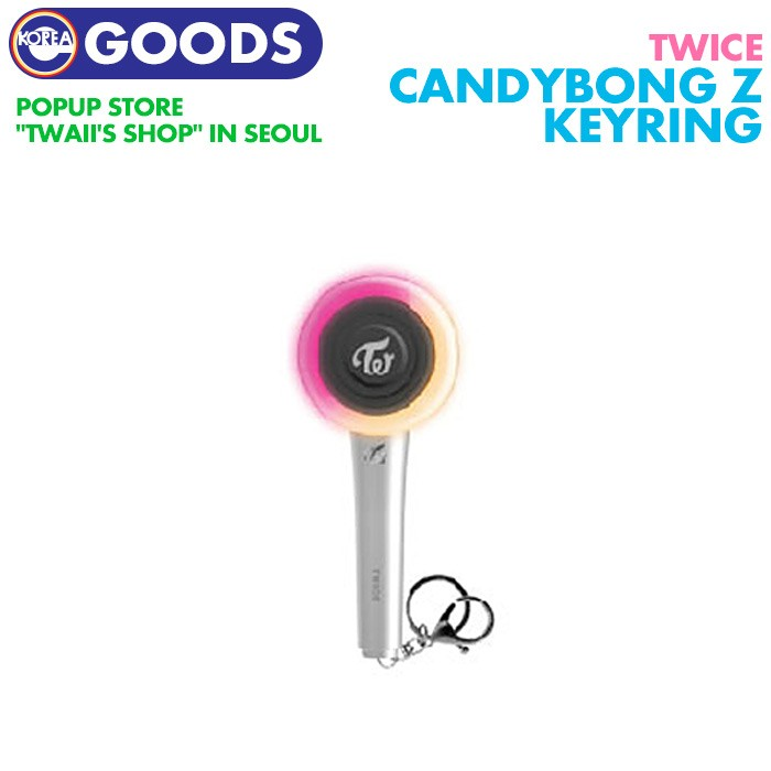 [1 next reservation ][ TWICE CANDYBONG Z Mini penlight key ring ]tuwa chair POP-UP STORE Twaii's Shop official goods [ cancel un- possible ]
