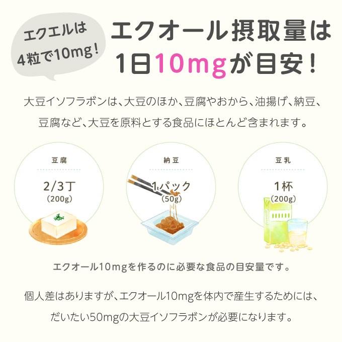 大塚製薬 エクエル 28日分 112粒 × 1個の商品画像|4