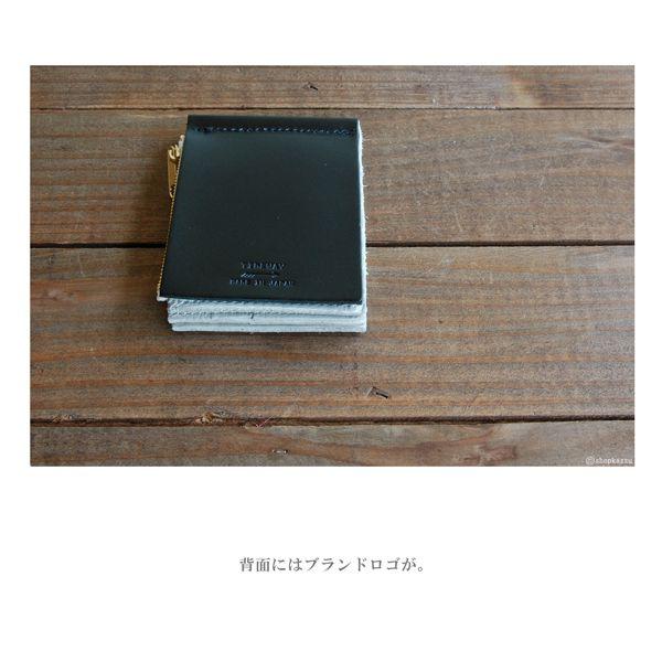 二つ折り財布 メンズ TIDEWAY タイドウェイ 牛革 MEMO WALLET