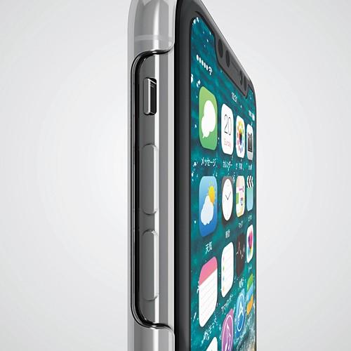 iPhone XR用 シェルカバー ストラップホール付 クリア PM-A18CPVSTCRの商品画像|4