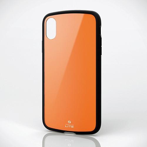 iPhone XR用 TOUGH SLIM LITE オレンジ PM-A18CTSLDRの商品画像 2
