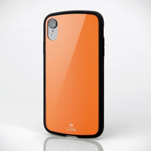 iPhone XR用 TOUGH SLIM LITE オレンジ PM-A18CTSLDRの商品画像 3
