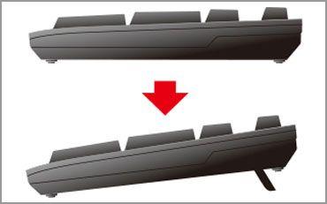エレコム PS4向け有線キーボード GM-TKFCM062BK(ブラック)の商品画像|4