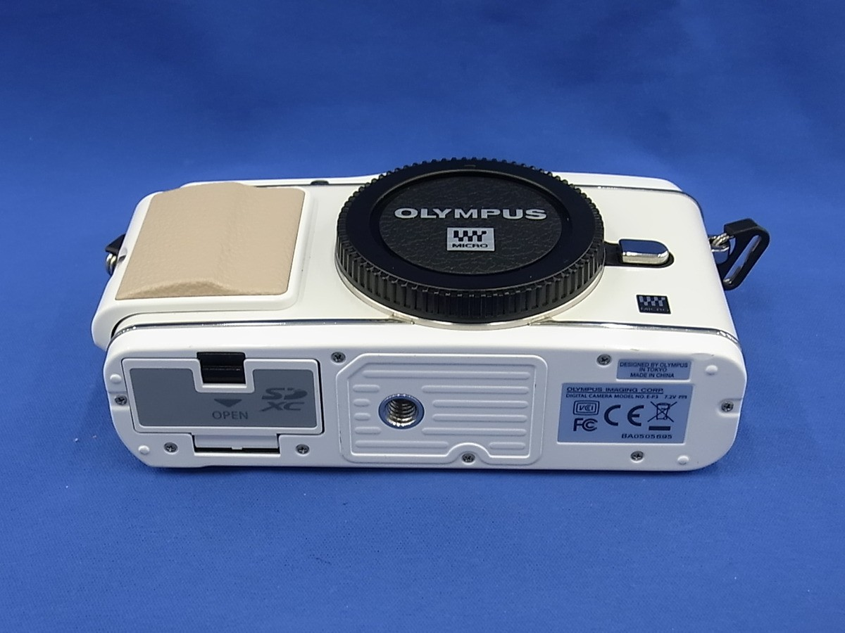 オリンパス オリンパスペン OLYMPUS PEN E-P3 ボディ(ホワイト)の商品画像|3