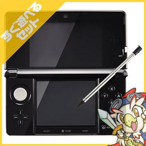 任天堂 ニンテンドー3DS クリアブラックの商品画像|2