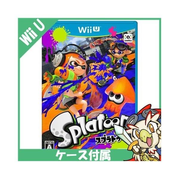 【Wii U】任天堂 Splatoon(スプラトゥーン)の商品画像 ナビ
