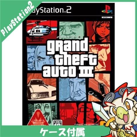 【PS2】 グランド・セフト・オート IIIの商品画像 ナビ