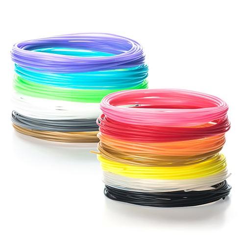 3Dペン・3Dプリンタ用 PLAフィラメント 300-3DPLAY-10 (黄、10m×1個)の商品画像|4