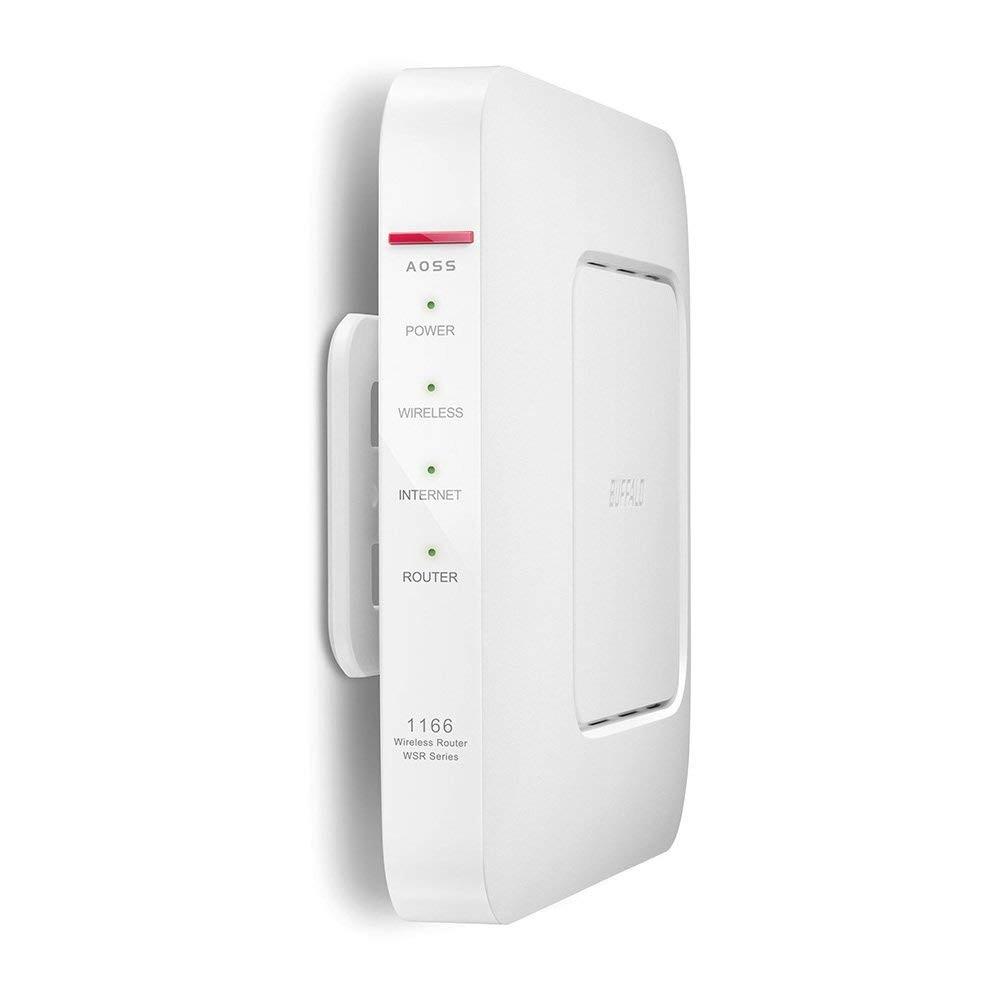 バッファロー 11ac/n/a/g/b 866+300Mbps 無線LAN親機 WSR-1166DHP2-WHの商品画像|3