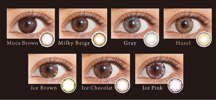 アイクオリティ株式会社 QUORE ワンデー カラー各種 10枚入り 6箱の商品画像|3