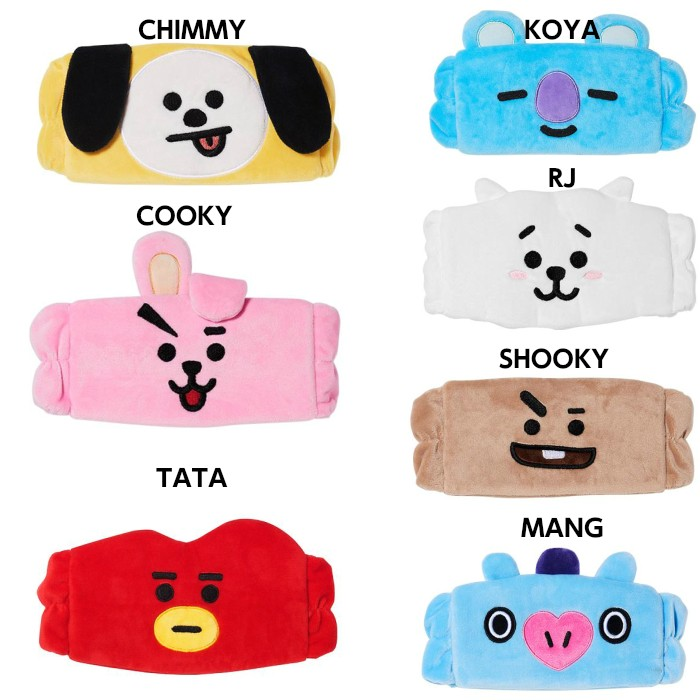 BT21 character hair band BTS- bulletproof boy .BT21 collaboration official commodity van tongue bts official goods [7 kind selection another ]