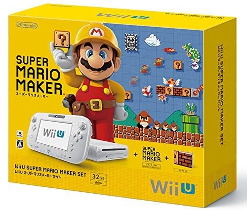 任天堂 Wii U スーパーマリオメーカー セットの商品画像|ナビ