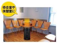 ナカトミ 丸型パネルヒーター RPH-1200の商品画像 2