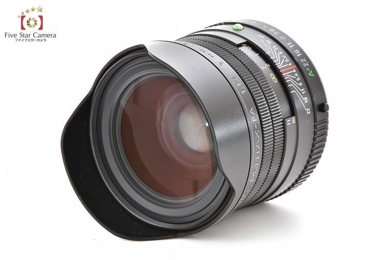 リコーイメージング FA31mmF1.8AL Limited(ブラック)の商品画像|3