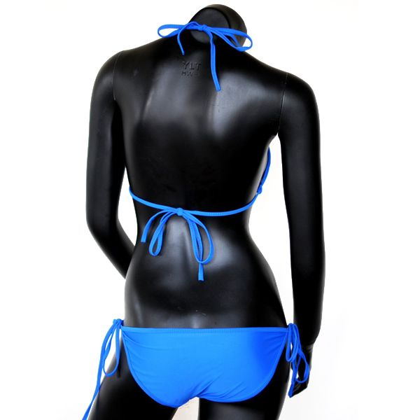 水着 ビキニ 三角ビキニ ブルー系【レディース ビキニ 水着 通販 /青色 ブルーカラー】sw-00020